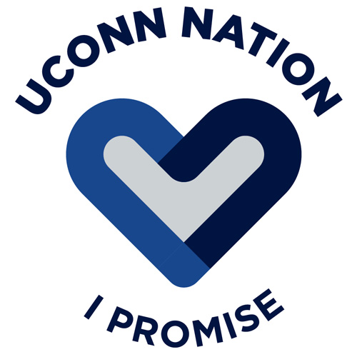 UConn Nation I Promise with a Heart
