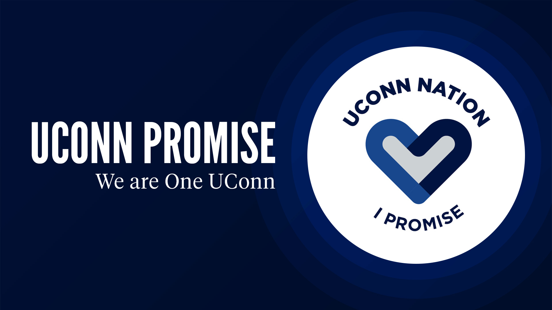 UConn Promise graphic